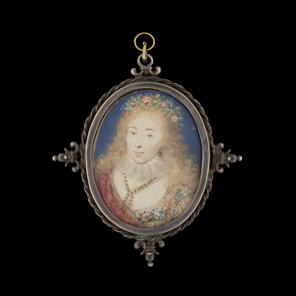 Lady Dorothy Sidney, later Countess of Leicester, née Percy by Isaac Oliver, c. 1615Phillip Mould & Company