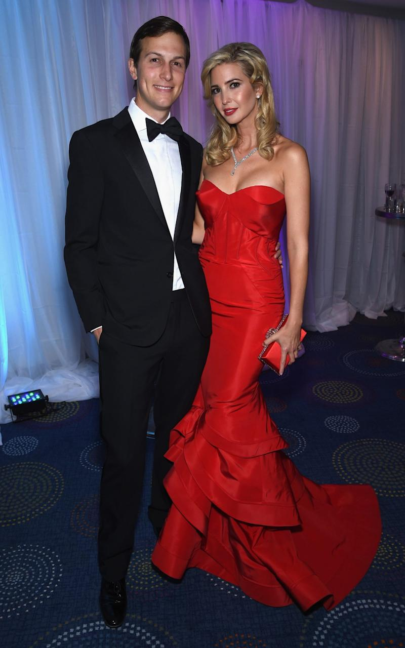 Jared Kushner and Ivanka Trump attend the Yahoo News/ABC News White House Correspondents' dinner reception pre-party at the Washington Hilton on Saturday, April 25, 2015 in Washington, DC - Credit: Getty