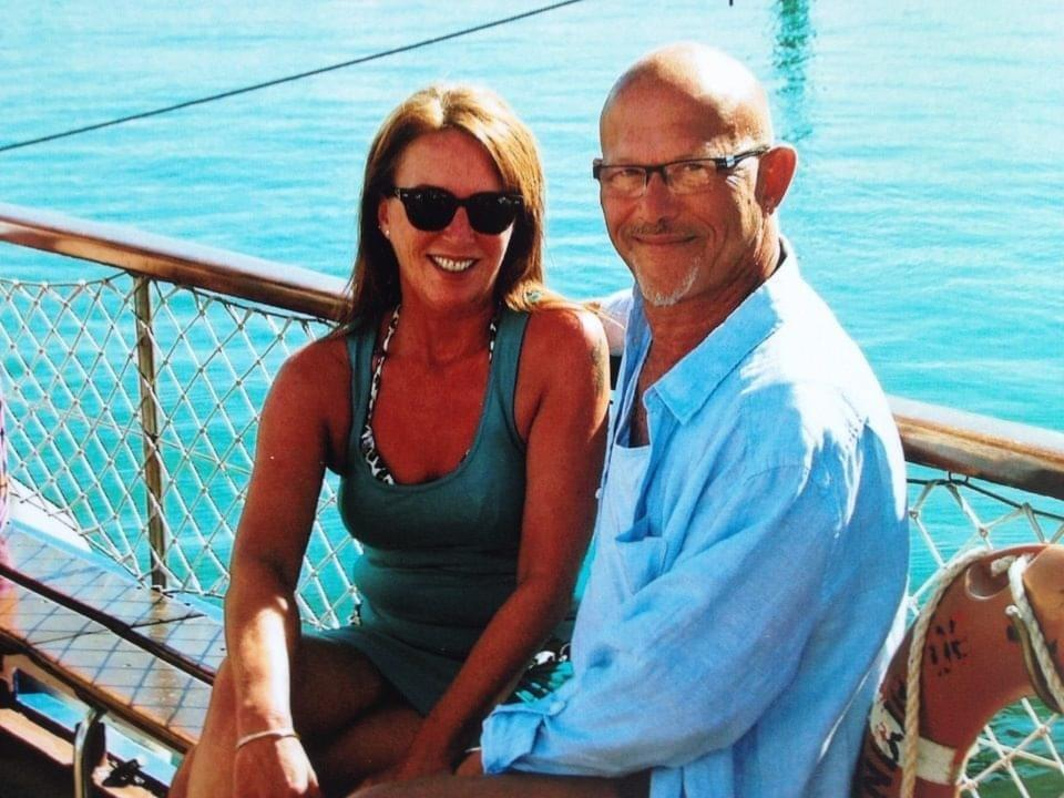 Fran Hall with her husband Steve Mead (Courtesy of Fran Hall)