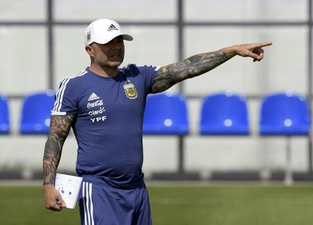 Jorge Sampaoli's job is likely on the line when Argentina meet Nigeria in their final World Cup group game