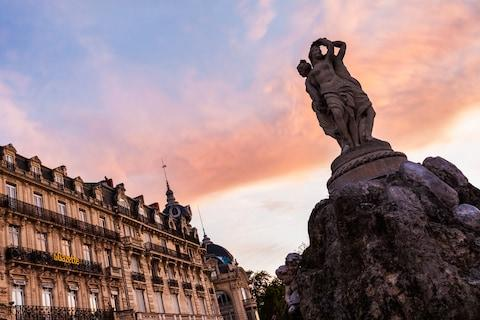 Montpellier, the capital of Languedoc, is a few miles from the Mediterranean coast - Credit: HENRYK SADURA