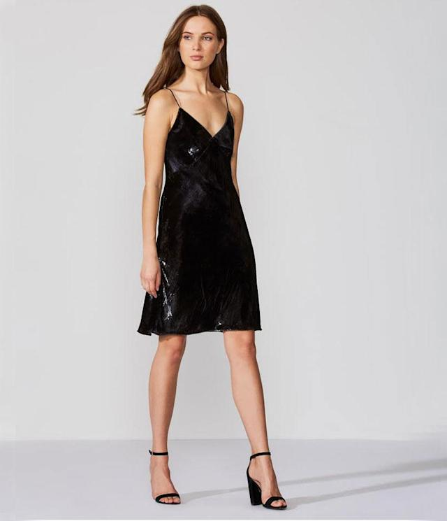 "<p>Love in the Dungeon Dress, $161, <a href=""https://www.bailey44.com/love-in-the-dungeon-dress-black"" rel=""nofollow noopener"" target=""_blank"" data-ylk=""slk:bailey44.com"" class=""link rapid-noclick-resp"">bailey44.com</a><br><br></p>"
