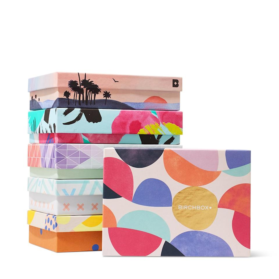 "<p>There's a better way to score freebies than stalking your department store cosmetics counter. Birchbox ships out four to five deluxe product samples (think travel-size, not single-use) each month from brands like Benefit, Kiehl's, Ouai, Stila, and Oribe—some tailored to the recipient's specific beauty needs.</p> <p><strong>To buy: </strong>$10; <a href=""http://click.linksynergy.com/fs-bin/click?id=93xLBvPhAeE&subid=0&offerid=283517.1&type=10&tmpid=11616&RD_PARM1=https%3A%2F%2Fwww.birchbox.com%2F%3Futm_source%3Dlinkshare%2526utm_medium%3Daffiliate%2526utm_campaign%3D93xLBvPhAeE%2526siteID%3D93xLBvPhAeE-qIyecThEwl9mFZ3h3e21fA&u1=RS%2C%20Surprising%20subscription%20box%20ideas"" target=""_blank"">birchbox.com</a>.</p>"