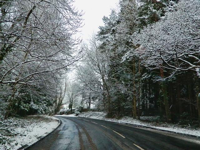 On a Wintery Road