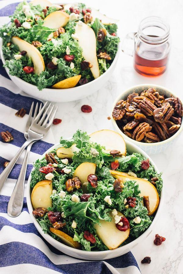"""<p>Slices of sweet pears make this fall salad feel special. It's easy enough to make for a weeknight dinner, but pretty enough to also work as a starter or side dish on your Thanksgiving table. </p><p><strong>Get the recipe at <a href=""""https://jessicainthekitchen.com/pear-and-gorgonzola-salad-with-honey-apple-dressing/"""" rel=""""nofollow noopener"""" target=""""_blank"""" data-ylk=""""slk:Jessica in the Kitchen"""" class=""""link rapid-noclick-resp"""">Jessica in the Kitchen</a>. </strong></p><p><a class=""""link rapid-noclick-resp"""" href=""""https://go.redirectingat.com?id=74968X1596630&url=https%3A%2F%2Fwww.walmart.com%2Fsearch%2F%3Fquery%3Dpioneer%2Bwoman%2Bcutting%2Bboard&sref=https%3A%2F%2Fwww.thepioneerwoman.com%2Ffood-cooking%2Fmeals-menus%2Fg36806222%2Ffall-salad-recipes%2F"""" rel=""""nofollow noopener"""" target=""""_blank"""" data-ylk=""""slk:SHOP CUTTING BOARDS"""">SHOP CUTTING BOARDS</a></p>"""