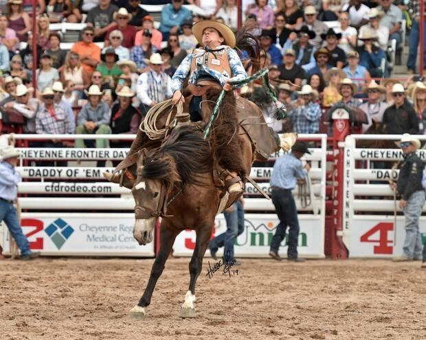 The new Calgary Stampede event, Broncs after Dark, will feature relay races, pickup races, trick riding and ranch bronc riding.  (Hubbel Photography                                                       - image credit)