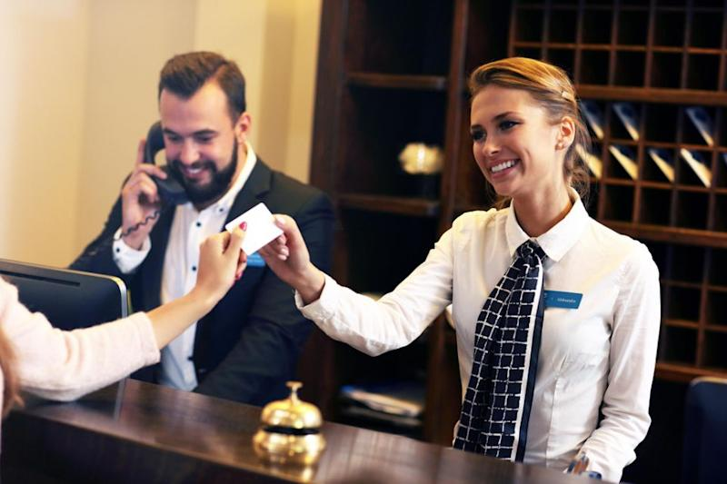 Being nice to staff and asking for an upgrade can be very successful. Photo: Getty