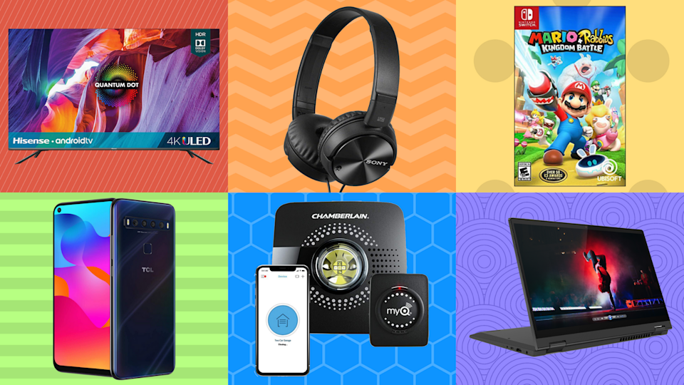 TVs, tablets, laptops, oh my: These Memorial Day sales are off the charts. (Photo: Yahoo Life)