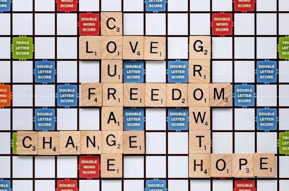 """<p>This is a perfect gift for word lovers. Find an old Scrabble board and glue the tiles onto the game board with words that will mean a lot to your mother. Think of words that exemplify how amazing she is, or fill it with words you know will make her smile, like the names of her children or grandchildren. </p><p><a class=""""link rapid-noclick-resp"""" href=""""https://www.amazon.com/gp/slredirect/picassoRedirect.html/ref=pa_sp_atf_aps_sr_pg1_1?ie=UTF8&adId=A098212523IHBWM478B3I&url=%2FMagicfly-Scrabble-Letters-Decoration-Crossword%2Fdp%2FB07KXN5C2Z%2Fref%3Dsr_1_1_sspa%3Fdchild%3D1%26keywords%3DSCRABBLE%2BTILES%26qid%3D1605822069%26sr%3D8-1-spons%26psc%3D1&qualifier=1605822069&id=3466674320099751&widgetName=sp_atf&tag=syn-yahoo-20&ascsubtag=%5Bartid%7C10063.g.34832092%5Bsrc%7Cyahoo-us"""" rel=""""nofollow noopener"""" target=""""_blank"""" data-ylk=""""slk:SHOP SCRABBLE TILES"""">SHOP SCRABBLE TILES</a></p>"""