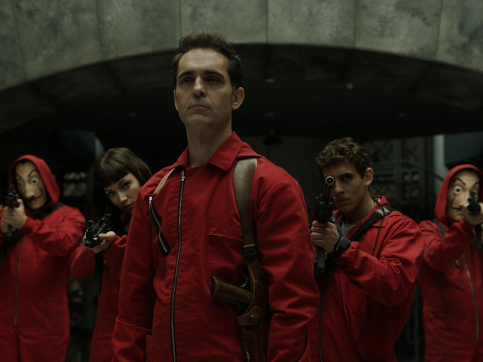 <p>'Money Heist' proved that the language spoken by a show's characters doesn't have to be a barrier to anyone's entry</p> (Netflix)