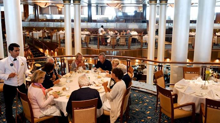Many cruise ships are reliant upon a high occupancy rate