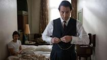<p><strong>Coming soon to BBC One</strong></p><p>Following on from the success of Hugh Grant's turn as Jeremy Thorpe in the first season of A Very English Scandal, the anthology series now moves on to focus on the messy 1963 divorce of Margaret Campbell, the Duchess of Argyll from her second husband - with the new script being penned by Agatha Christie writer Sarah Phelps. </p>
