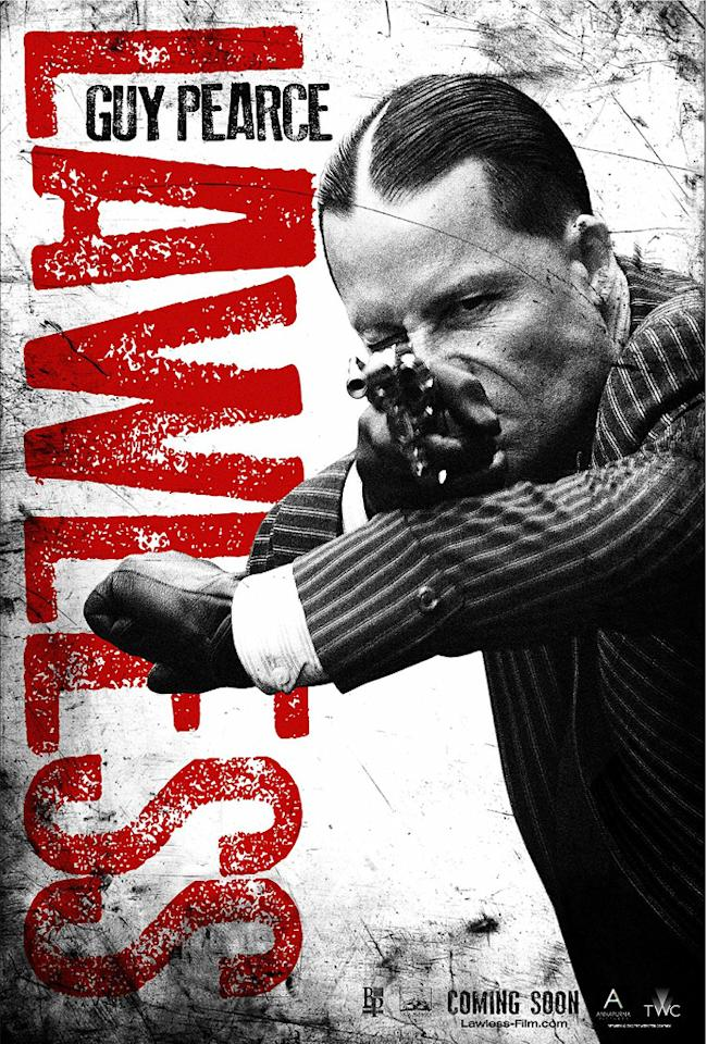 """Guy Pearce in Weinstein Company's """"Lawless"""" - 2012"""