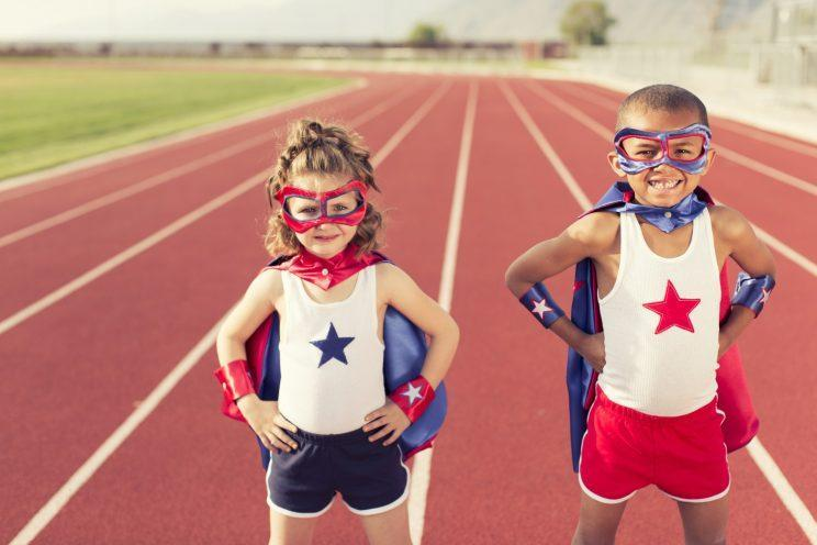 Little girls can be superheroes too [Photo: Getty]