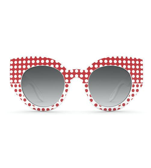 """<p>Look hella retro in these awesome polka dot sunnies. [<i><a href=""""http://shop.swatch.com/en_gb/accessories/theeyes/set/the-eyes-of-meg-ses03wpr005.html"""">Swatch, £69]</a></i></p>"""