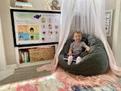 <p>Parents can score a ton of fun accessories for their children's calming corner thanks to the <span>Time-In ToolKit</span> ($59), which provides caregivers with posters, mindfulness cards, and more!</p>