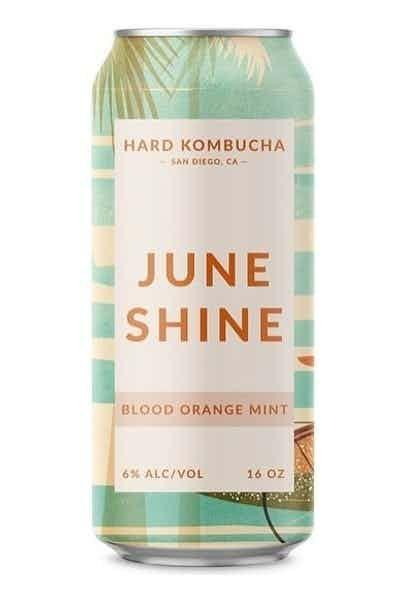 """<p><strong>June Shine</strong></p><p>drizly.com</p><p><strong>$5.99</strong></p><p><a href=""""https://go.redirectingat.com?id=74968X1596630&url=https%3A%2F%2Fdrizly.com%2Fbeer%2Fspecialty-beer-alternatives%2Fhard-kombucha%2Fjuneshine-blood-orange-mint%2Fp96262&sref=https%3A%2F%2Fwww.delish.com%2Fkitchen-tools%2Fcookware-reviews%2Fg33263238%2Fhard-seltzers%2F"""" rel=""""nofollow noopener"""" target=""""_blank"""" data-ylk=""""slk:BUY NOW"""" class=""""link rapid-noclick-resp"""">BUY NOW</a></p><p>Now you can enjoy the <a href=""""https://www.delish.com/food/g22061373/kombucha-benefits/"""" rel=""""nofollow noopener"""" target=""""_blank"""" data-ylk=""""slk:probiotic health benefits"""" class=""""link rapid-noclick-resp"""">probiotic health benefits</a> of kombucha during happy hour with this alcoholic version of the trendy drink.</p>"""