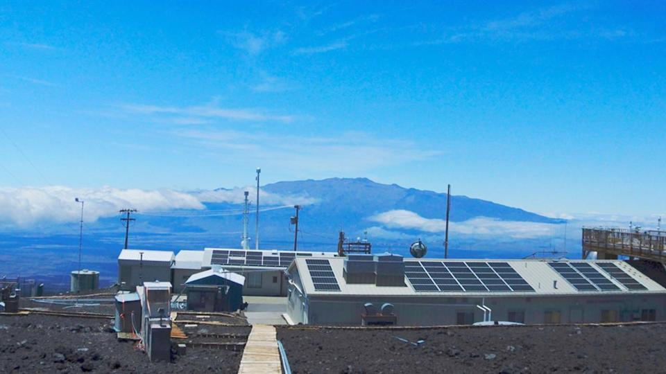 CO2 at Mauna Loa exceeds 420 ppm for the first time in human history