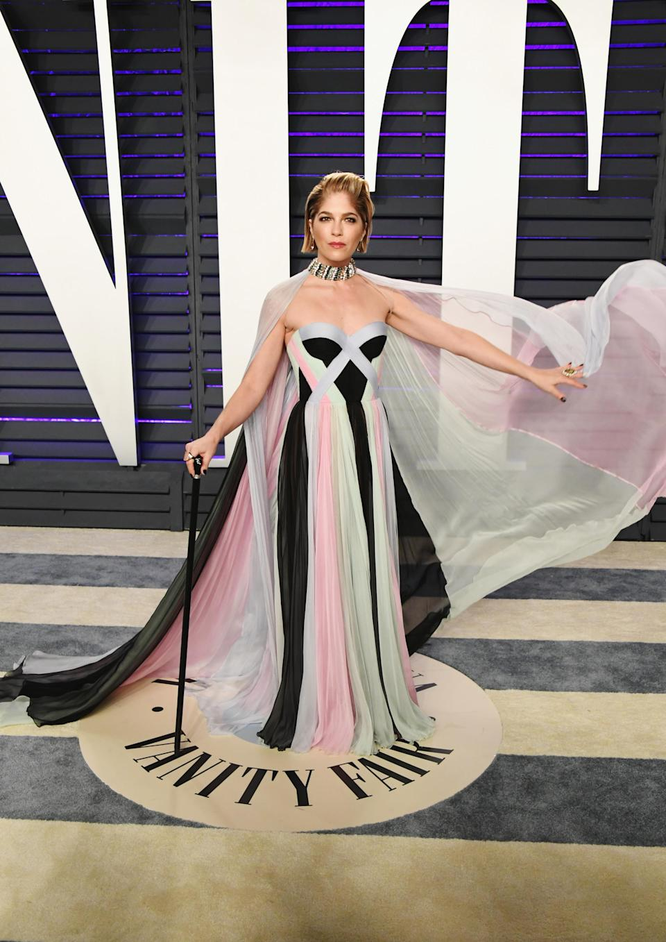 Selma Blair attends the 2019 Vanity Fair Oscar Party hosted by Radhika Jones<em> (Getty Images)</em>