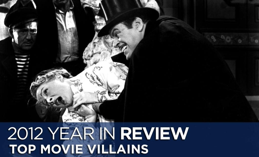 2012 was a pretty great year for movies of all kinds: blockbusters, indies, and all points between. It was a particularly good year for villains. Here are five of the baddest baddies of 2012: