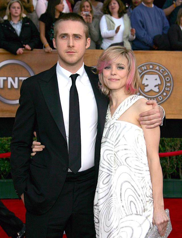 Ryan Gosling and Rachel McAdams. (Photo: Getty Images)
