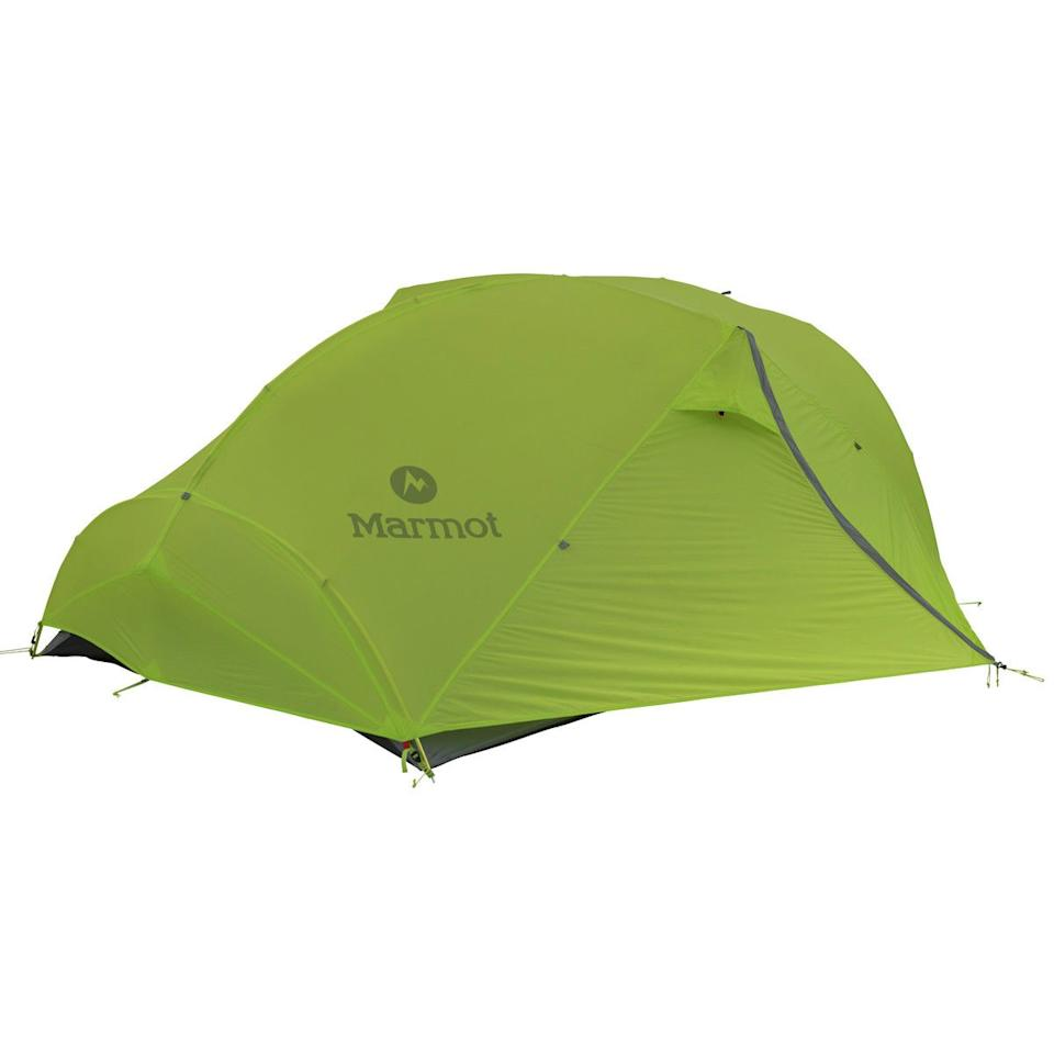 """<p><strong>Marmot</strong></p><p>backcountry.com</p><p><a href=""""https://go.redirectingat.com?id=74968X1596630&url=https%3A%2F%2Fwww.backcountry.com%2F3-season-backpacking-tents&sref=http%3A%2F%2Fwww.menshealth.com%2Ftechnology-gear%2Fg30895473%2Fbackcountry-winter-sale-mens-deals%2F"""" target=""""_blank"""">BUY IT HERE</a></p><p><del>$468.95<strong><br></strong></del><strong>$329.95</strong></p><p>Already counting down the days to your big summer camping trip? Add Marmot's Force 3P Tent to your cart. This option boats a minimalist (and lightweight) design as well as mesh panels that's perfect for a cool summer breeze.</p>"""