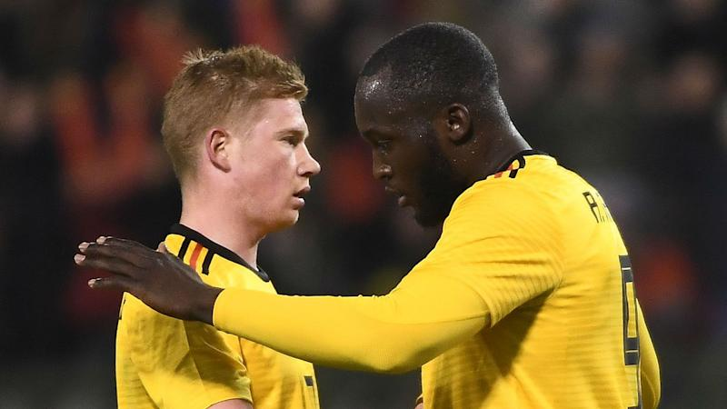 De Bruyne happy to let Lukaku and Co. do the damage for Belgium