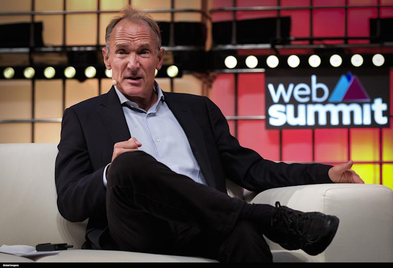 "Sir Tim Berners-Lee said the Conservatives were ""brazen"" by rebranding their Twitter account (Picture: PA)"