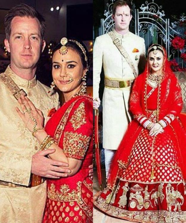 Image result for preity zinta wedding