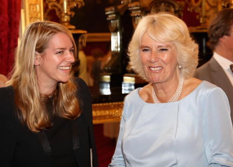 Laura Lopes is Camilla's daughter from her first marriage. Photo: Getty Images
