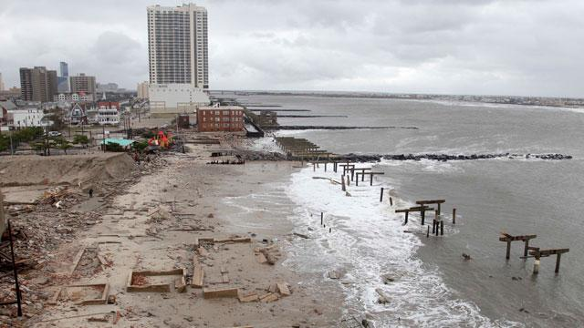 Christie Vows NJ, After 'Unfathomable' Damage, Will Rebuild