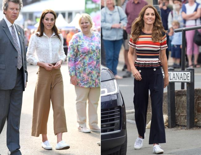 Every time Kate Middleton has surprised by wearing casual