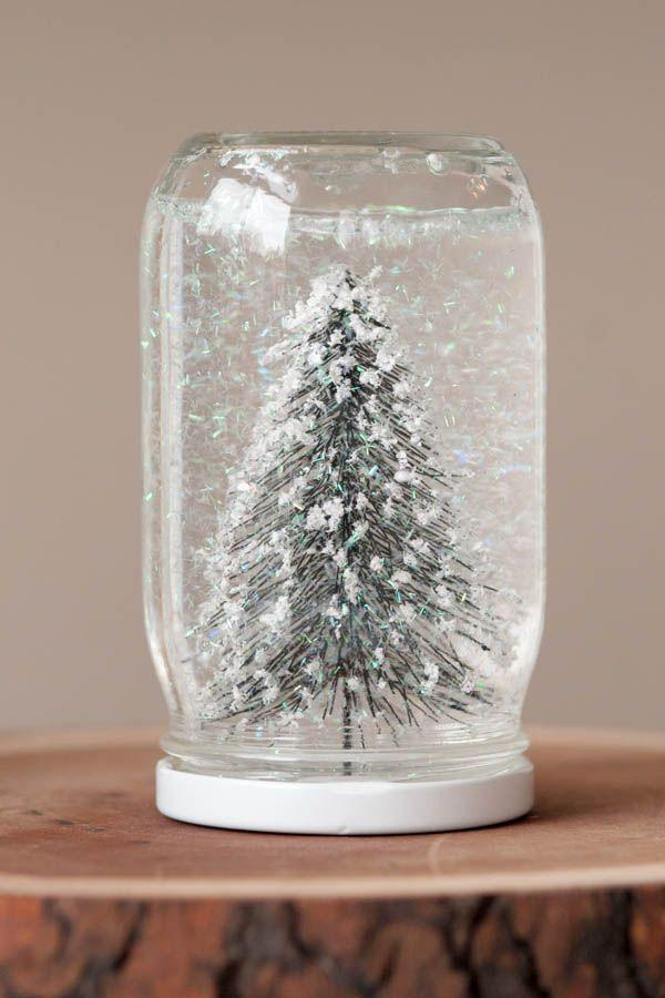 """<p>Okay, hold the phone. Handmade snow globes are <em>such</em> a good idea! They also happen to be as inexpensive as they are nice to look at.</p><p><strong>Get the tutorial at <a href=""""https://thesweetestoccasion.com/2012/12/diy-snow-globes/"""" rel=""""nofollow noopener"""" target=""""_blank"""" data-ylk=""""slk:The Sweetest Occasion"""" class=""""link rapid-noclick-resp"""">The Sweetest Occasion</a>.</strong></p><p><a class=""""link rapid-noclick-resp"""" href=""""https://www.amazon.com/Ball-Regular-32-Ounces-2-Units-Pack/dp/B01N6QBJG0/?tag=syn-yahoo-20&ascsubtag=%5Bartid%7C10050.g.645%5Bsrc%7Cyahoo-us"""" rel=""""nofollow noopener"""" target=""""_blank"""" data-ylk=""""slk:SHOP MASON JARS"""">SHOP MASON JARS</a> </p>"""
