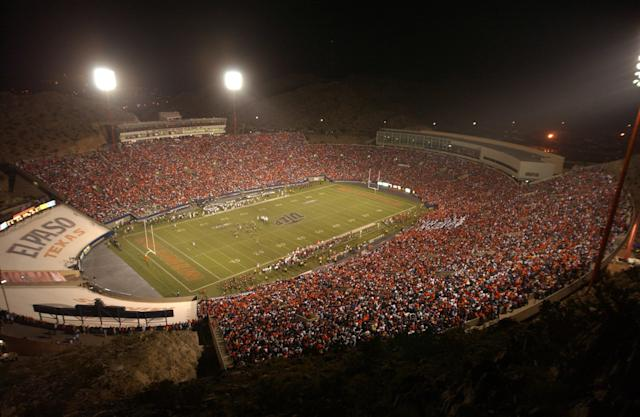 The Sun Bowl, where Dana Dimel will serve as UTEP's next head coach. (Getty)