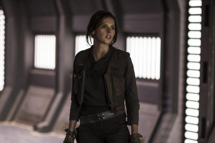 Felicity Jones as Jyn Erso in Rogue One (Photo: Disney/Lucasfilm)