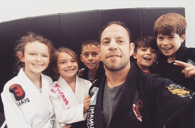 Gabe Ruediger is making sure that the next generation of fighters learns from his experiences. (Instagram/@kaijumma)