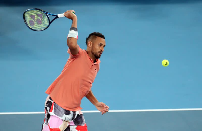 Kyrgios accuses Acapulco crowd of 'disrespect' after retiring hurt