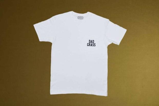 """<p>Dad Grass x Mark McNairy White Pocket Tee, $35, <a href=""""https://dadgrass.com/collections/merch/products/dad-grass-x-mark-mcnairy-white-pocket-tee-white?variant=32802953527382"""" rel=""""nofollow noopener"""" target=""""_blank"""" data-ylk=""""slk:available here"""" class=""""link rapid-noclick-resp"""">available here</a> (sizes S-XL).</p>"""