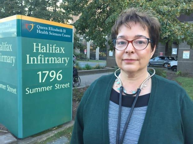 Dr. Gabrielle Horne won a $1.4 million lawsuit against the former Capital District Health Authority for loss of reputation and career. The Nova Scotia Court of Appeal later reduced that jury award to $800,000. (Anjuli Patil/CBC - image credit)