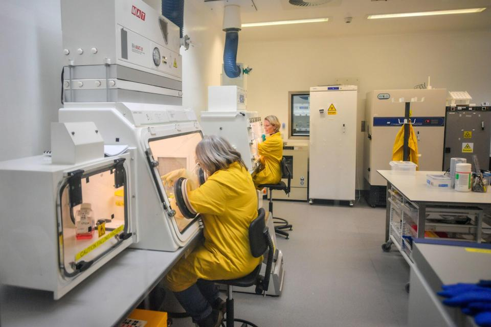 <p>Testing at the Porton Down labs in Wiltshire will be ramped up</p> (PA)