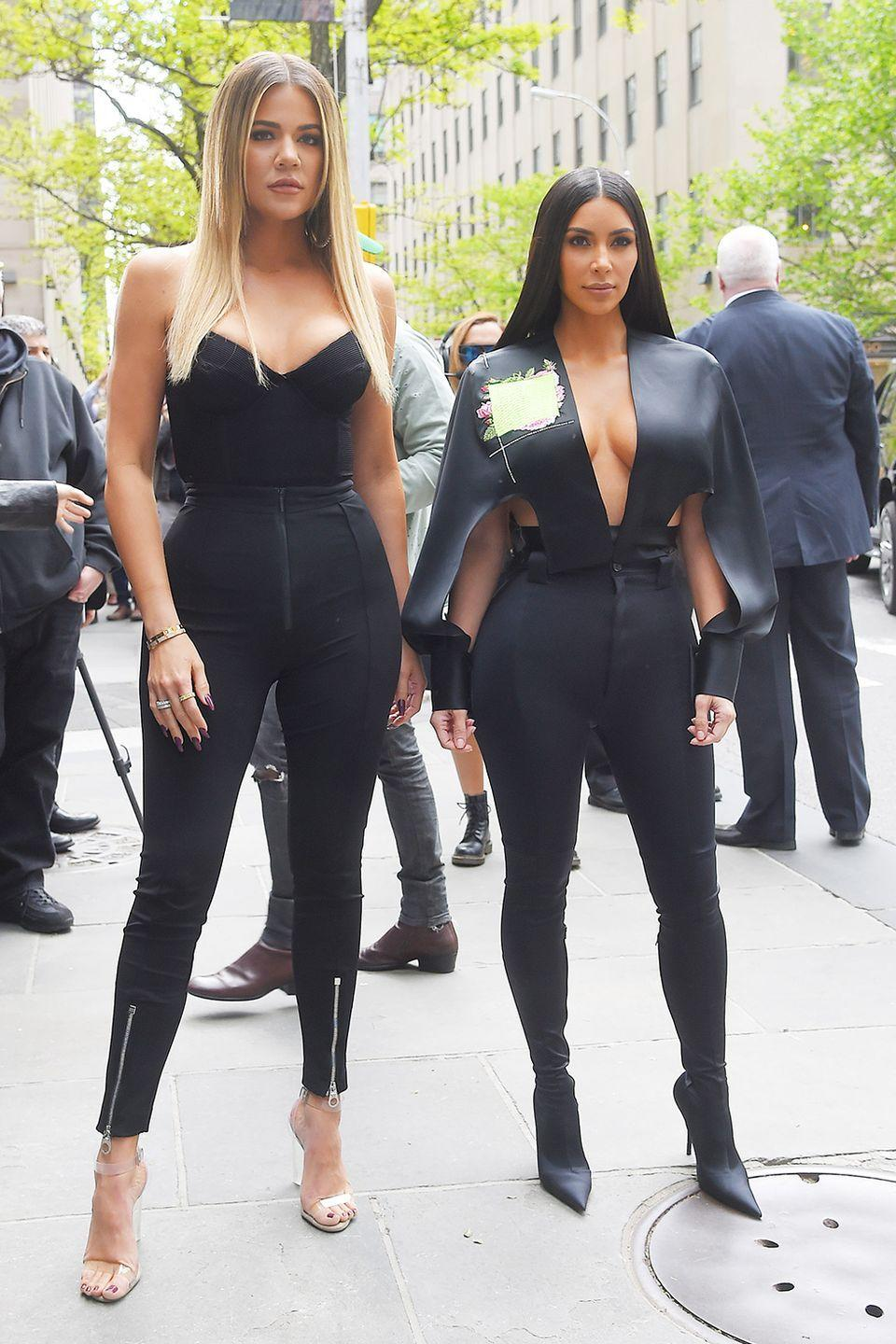 """<p>Khloe told <em> <a href=""""https://people.com/celebrity/khloe-kardashian-diet-plan/what-she-cut/"""" rel=""""nofollow noopener"""" target=""""_blank"""" data-ylk=""""slk:People"""" class=""""link rapid-noclick-resp"""">People</a> </em>that cutting out dairy—especially cheese—helped her lose 40 pounds. </p><p>But FYI: Nixing cheese <a href=""""https://www.womenshealthmag.com/weight-loss/a19967736/is-dairy-bad-for-you/"""" rel=""""nofollow noopener"""" target=""""_blank"""" data-ylk=""""slk:won't work for everyone"""" class=""""link rapid-noclick-resp"""">won't work for everyone</a>. (It could help you <a href=""""https://www.womenshealthmag.com/food/a21641590/cut-dairy-for-acne/"""" rel=""""nofollow noopener"""" target=""""_blank"""" data-ylk=""""slk:get rid of acne"""" class=""""link rapid-noclick-resp"""">get rid of acne</a>, though!)</p>"""