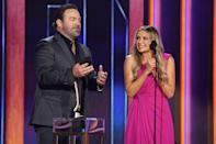 """<p>Pearce and Lee Brice took home the award for single of the year for their song """"I Hope You're Happy Now,"""" which also won the trophy for <a href=""""https://people.com/country/acm-awards-2021-carly-pearce-lee-brice-react-to-music-event-win/"""" rel=""""nofollow noopener"""" target=""""_blank"""" data-ylk=""""slk:music event of the year"""" class=""""link rapid-noclick-resp"""">music event of the year</a> earlier this week. The singer appeared to be in delighted shock, jumping up and down before giving an exuberant acceptance speech. </p>"""