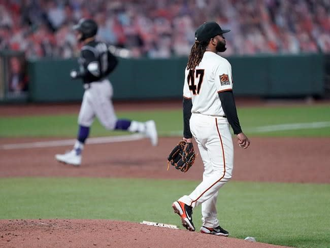 Pillar, Márquez help Rockies hand Giants costly loss, 7-2