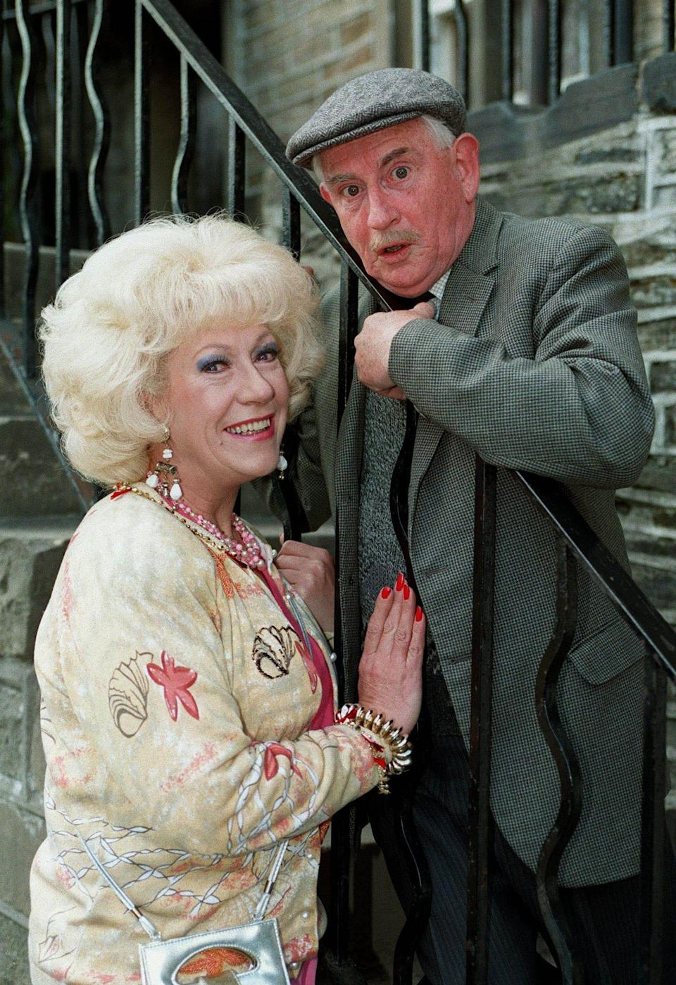 Howard with Marina, the object of his unrequited ardour, played by Jean Fergusson - Allstar Picture Library Ltd/Alamy