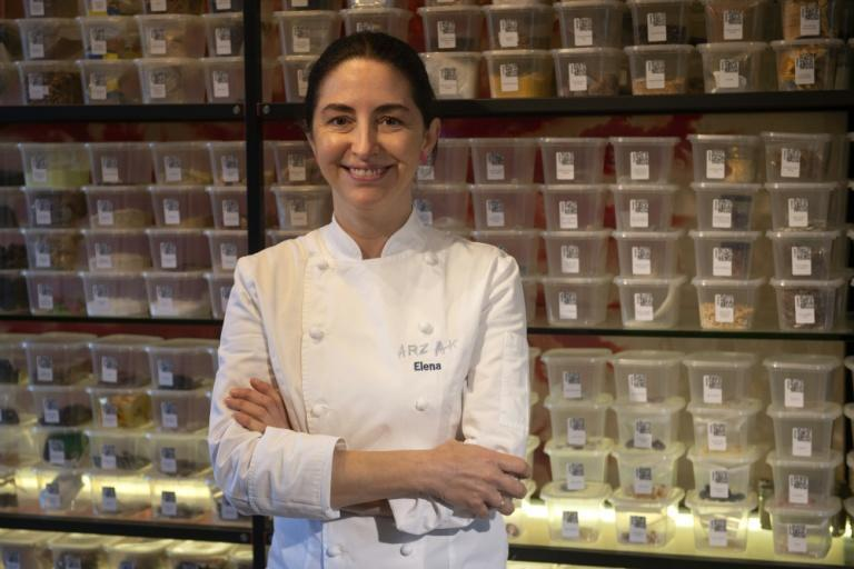 Elena Arzak is carrying on the family tradition
