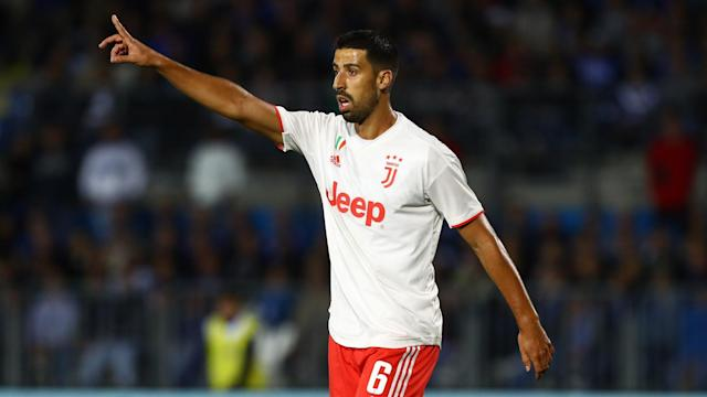 Germany international Sami Khedira is set to be absent for Juventus until March following successful surgery on his left knee.