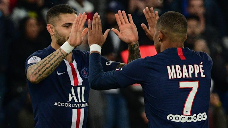 Mbappe linking with Icardi like he did with Falcao at Monaco - PSG coach Tuchel