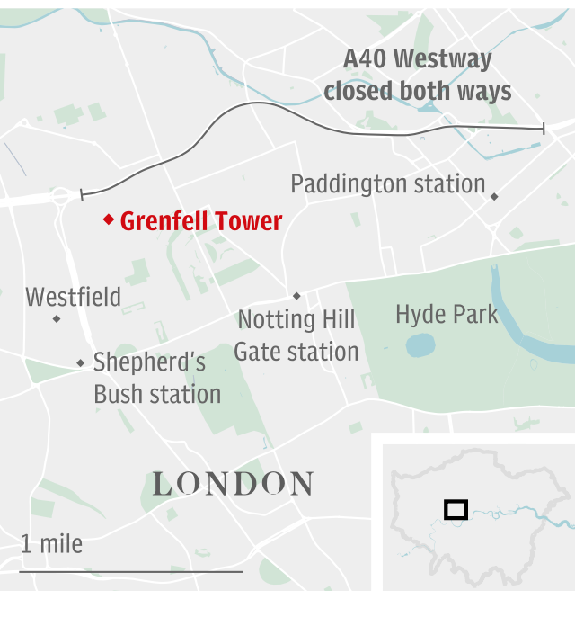 Grenfell Tower locator