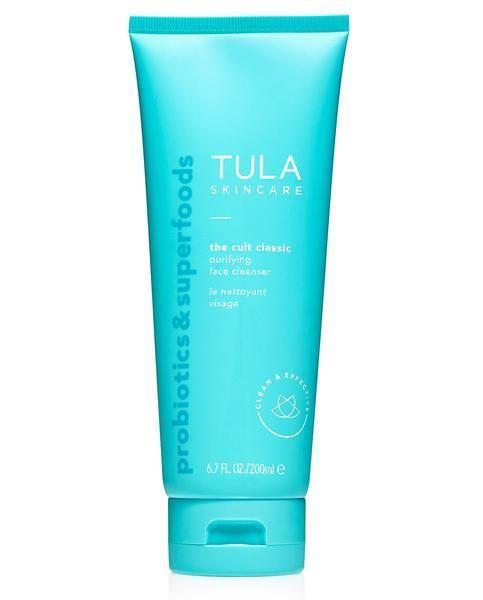 "<p>tula.com</p><p><strong>$28.00</strong></p><p><a href=""https://go.redirectingat.com?id=74968X1596630&url=https%3A%2F%2Fwww.tula.com%2Fproducts%2Fpurifying-cleanser&sref=https%3A%2F%2Fwww.thepioneerwoman.com%2Fbeauty%2Fskin-makeup-nails%2Fg34418496%2Fbest-facial-cleanser%2F"" rel=""nofollow noopener"" target=""_blank"" data-ylk=""slk:Shop Now"" class=""link rapid-noclick-resp"">Shop Now</a></p><p>This cleanser is so good it's risen to cult favorite among those who shop Tula Skincare and has over 2,000 reviews! </p>"
