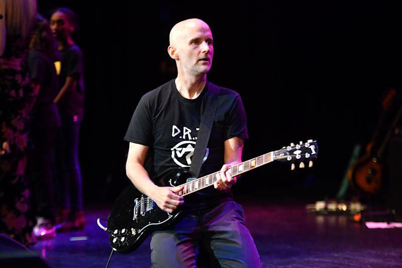 Musician Moby performs at the 7th Annual Adopt the Arts Benefit Gala at The Wiltern on March 7, 2019, in Los Angeles. (Photo: Scott Dudelson/Getty Images)